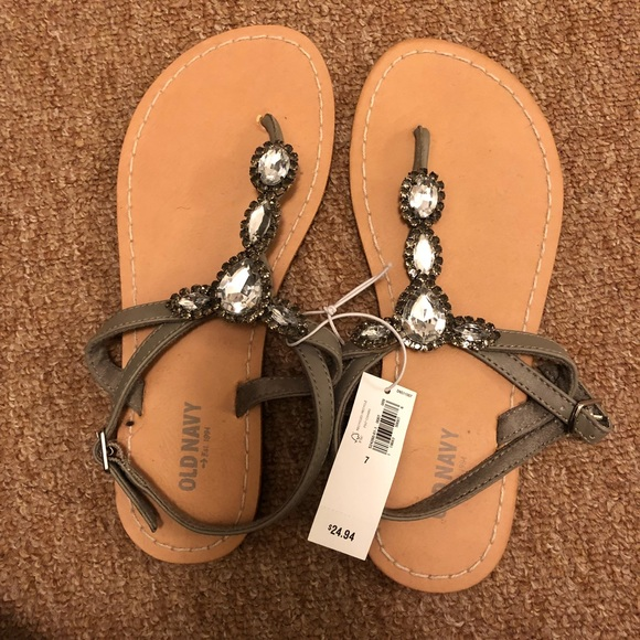 c9e05ef6497159 Old Navy Jeweled sandals size 7